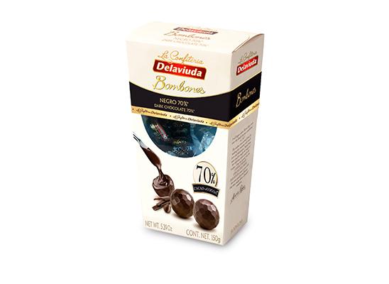 Bombones Chocolate Negro 70%