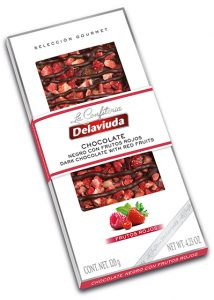 Chocolate Negro con Frutos Rojos