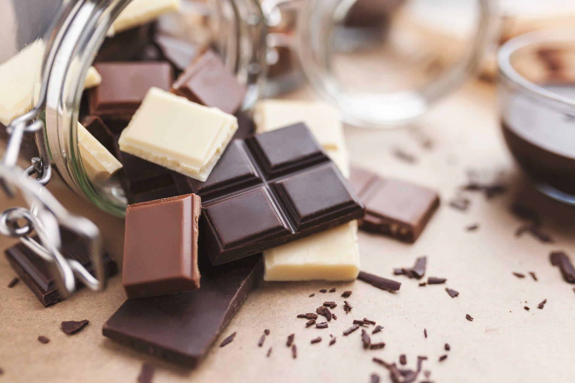 conservar el chocolate