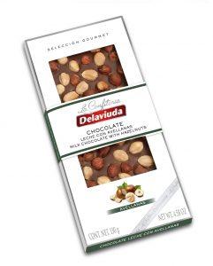 Chocolate Leche con Avellanas