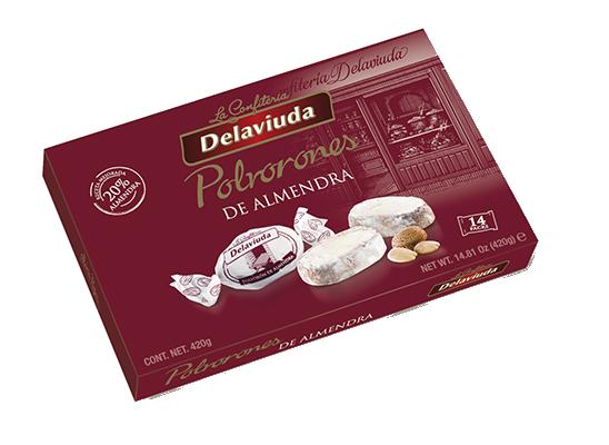 Delaviuda - Polvorones de Almendra