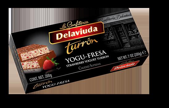 Delaviuda - Turrón Yogu-Fresa
