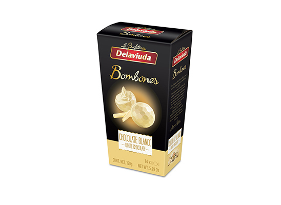 Delaviuda - Bombones Chocolate Blanco