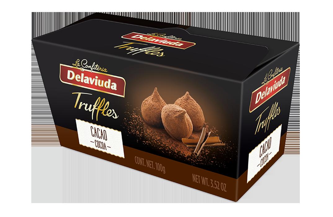 Delaviuda - Trufas Cacao