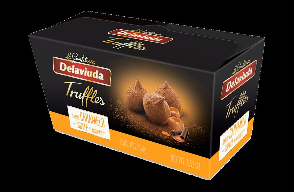 Delaviuda - Trufas Caramelo