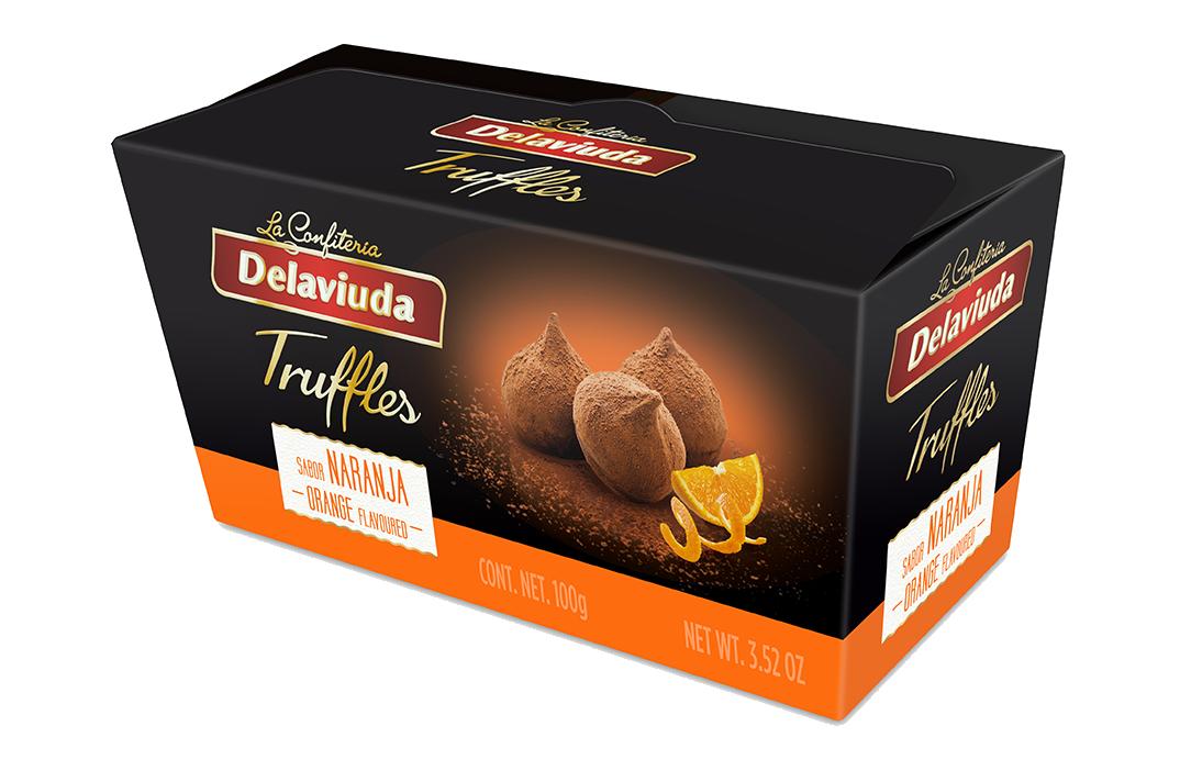 Delaviuda - Trufas Naranja