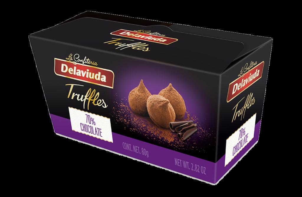 Delaviuda - Trufas 70% Chocolate