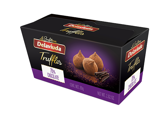 Delaviuda - Trufas Chocolate 70%