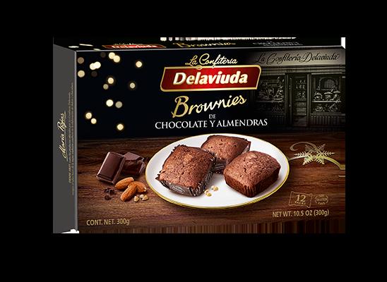 Delaviuda - Brownies de Chocolate y Almendras
